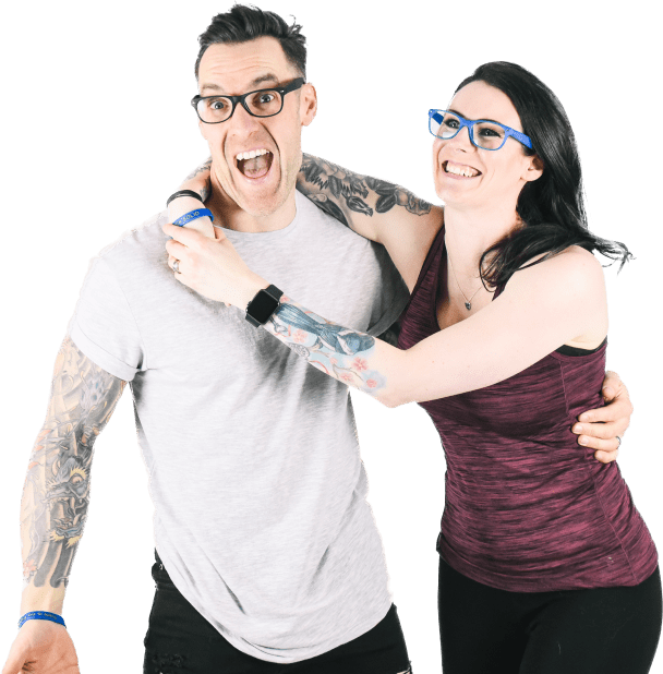 About Rock Solid We are Laura and Barry Ash aka Loz and Baz a husband and wife team and former Police and Prison Officers, who's passion is making this world a happier and healthier place
